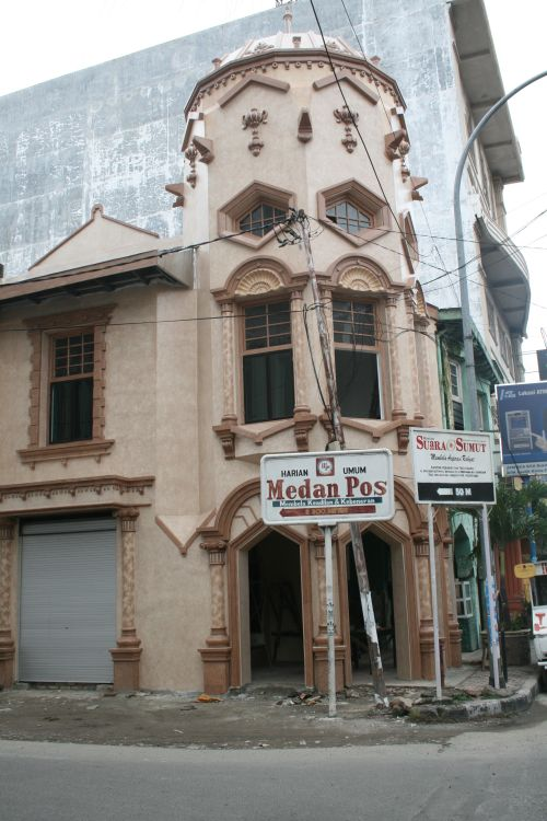 Medan has some beautiful old buildings which I hope the city tries to preserve